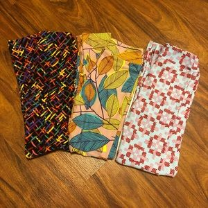 NWOT LuLaRoe kids leggings lot
